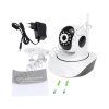 Wonder World ™ CCTV Wi-Fi Wireless IP 720p Network IR P2P 1 Channel Home Security Camera  (1 GB)